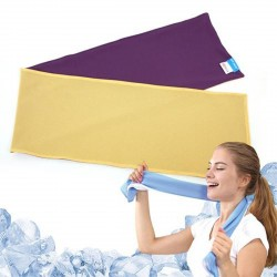Serviette Ice Mate Cool Violet / Jaune N-Rit