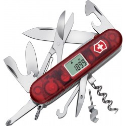 Couteau suisse Traveller Lite Rouge Transparent Victorinox 91mm
