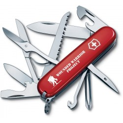Couteau suisse Fieldmaster Wounded Warrior rouge Victorinox 91mm - 1