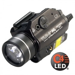 Lampe tactique Streamlight TLR-2 HL - Led blanche et Laser rouge