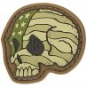 Morale Patch Stars and Stripes Skull de Maxpedition - 1