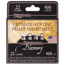 400 Plombs Ultimate Hunting Calibre 5.5mm (.22) 14.3gr - Crosman - 1