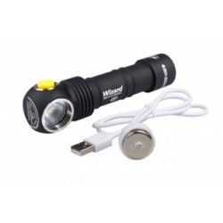 Lampe Multi-Usages Armytek Wizard Magnet USB (Warm) - 3