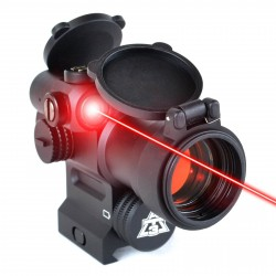 Viseur point rouge et laser rouge intégré LEOS AT3 Tactical - 1