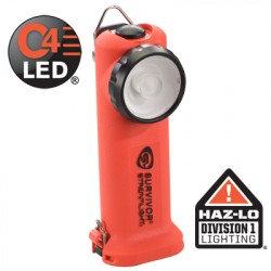 Lampe torche Survivor Rechargeable Orange ATEX + Chargeur Streamlight - 1